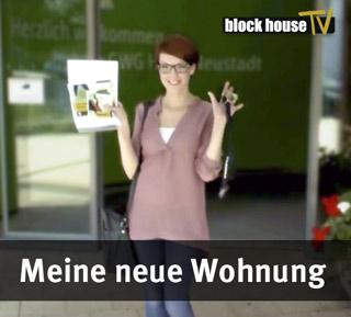 Blockhouse TV - Wohnung in Halle