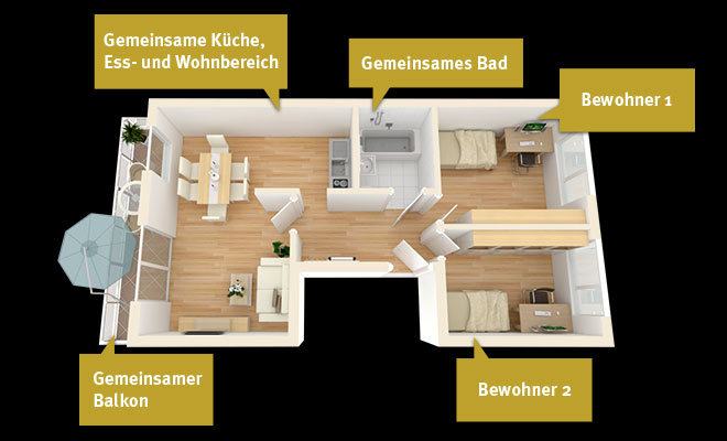 wg zimmer in halle saale neustadt mieten gwg blockhouse city halle blockhouse city. Black Bedroom Furniture Sets. Home Design Ideas